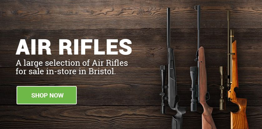 Air Rifles banner